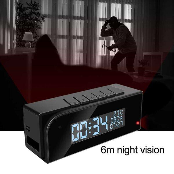 מצלמה סודית בשעון לבית